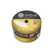 HP DVD-R lemez, nyomtatható, 4,7GB, 16x, 50 db, zsugor csomagolás, HP
