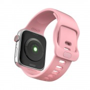 Curea silicon Tech-Protect Icon Apple Watch 1/2/3/4/5/6/SE (38/40mm) Pink