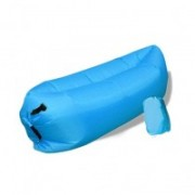 Nafukovací vak Duobed 250x100x50 cm svetlo modrý