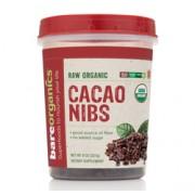 BareOrganics SWEET CACAO NIBS (Raw Organic) (8oz) 227g