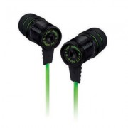 Razer hammerhead v2,analog gaming & music in-ear headphones,10 mm extra-large dynamic drivers,flat-style cables, enhanced passive noise isolation