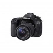 Camara Canon EOS 80D EF 18-55 IS STM