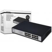Digitus DN-60011-1 switch di rete Nero