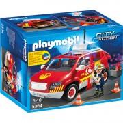 City Action - Brandweercommandant met dienstwagen