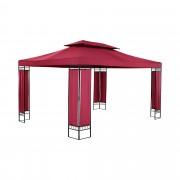 Pergola rouge vin - 3 x 4 m - 160 g/m²