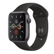Apple Watch S5 44mm Gray Alu Black Sport MWVF2