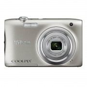 Nikon Coolpix A100 20.1MP Prateada + Bolsa + Selfie Stick