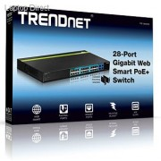 Trendnet 28-Port Gigabit Web Smart PoE+ Switch