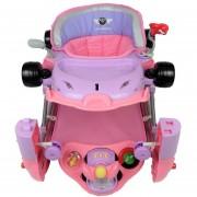 Andadera para Bebe de Lujo Mecedora Tablero Musical Racing Rosa