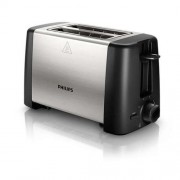 Тостер, Philips Daily Collection, 2 slot Compact, Black, metal (HD4825/90)