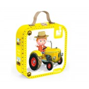 Janod Puzzle Tractor