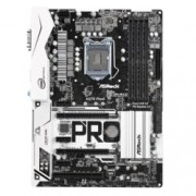Дънна платка ASRock H270 Pro4, H270, LGA 1151, DDR4, PCI-E (HDMI&DVI&VGA)(Quad CFX), 6x SATA 6Gb/s, 2x M.2 slot, 1x USB 3.0 (Type-C), ATX