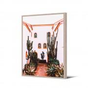 Pôdevache Rosalejo - Toile imprimée hacienda 92,5x65cm - Couleur - Multicolore