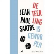 De teerling is geworpen - Jean-Paul Sartre