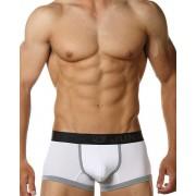 Junk Underjeans Shadow Trunk Underwear White/Grey MB14100