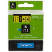 Dymo 45808 Cinta mecanográfico negro sobre amarillo Original S0720880