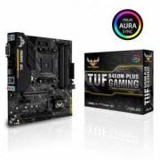 Дънна платка ASUS TUF B450M-Plus Gaming socket AM4, 4xDDR4, Aura Sync, ASUS-MB-TUF-B450M-PLUS