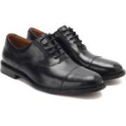 Clarks Dorset Boss Men Genuine Leather Lace Up shoes For Men(Black)
