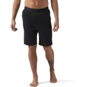 Reebok Black Polyester Shorts for Men