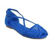 Urban monkey Blue Flats for Women (COUM_5391_BLUE )