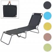 Sonnenliege HWC-B11, Relaxliege Gartenliege, Stoff/Textil klappbar ~ Variantenangebot