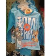 Pijamale Tom&Jerry maneca lunga