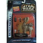 Galoob Star Wars Action Fleet / micro-machine Battle Pack # 10 Mos Eisley space port