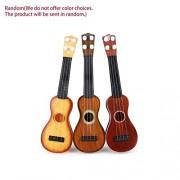 HATCHMATIC 21 inch Ukulele Beginner Hawaii 4 String Nylon Strings Guitar Musical Ukelele Toys for Children Kids Girls Christmas Gift Random: Brown