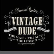 Vegaoo Vintage Dude - Duk till födelsedagsfesten One-size