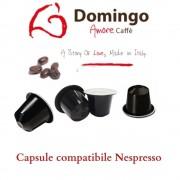 Domingo Caffe Capsule compatibile Nespresso, Espresso Bar (100 capsule)
