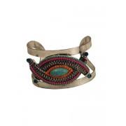 Unieke vintage bohemian chique statement cuff armband