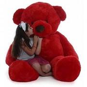 Teddy Bear 5 Feet Soft Red(152cm)