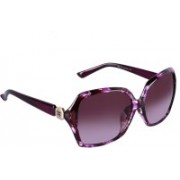 TRUE INDIAN Over-sized Sunglasses(Violet)