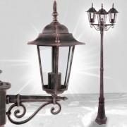 Zahradní lampa GARL02 > varianta bronz