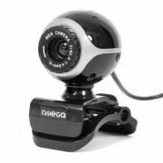 Omega Webcam OUW10SB Crane Universal Negra