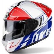 Airoh ST 701 Way Helm Weiss Rot Blau S