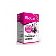 BioCo Hialuronsav Kollagén kapszula 30 db