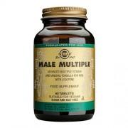 Solgar Male Multiple Multivitamin Til Mænd - 60 Tabl