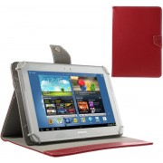 Shop4 - HP Pro Slate 8 Tablet Hoes - Book Cover Cabello Rood