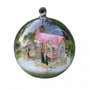 "3D ""Lolita Dream House"" Christmas Gift Glass Ball Birthday DIY Model LED Kits Doll House"