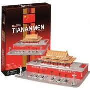 3D three-dimensional puzzle Tiananmen (japan import) by CubicFun
