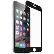 Xtop iPhone 6 plus / 6s plus Screen Protector [0.26mm+3D+9H Hardness] HD Tempered Glass Protector with 2.5D (Black)