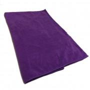 Twotags Microfibre Zip Pocket Large Towel Purple