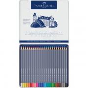 Creioane colorate acuarela Goldfaber 24 culori, Faber-Castell