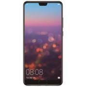 "Telefon Mobil Huawei P20, Procesor Octa-Core 2.36/1.8 GHz, Capacitive touchscreen 5.8"", 4GB RAM, 128GB Flash, Camera Duala 12+20MP, Wi-Fi, 4G, Single SIM, Android (Negru) + Cartela SIM Orange PrePay, 6 euro credit, 6 GB internet 4G, 2,000 minute nationale"