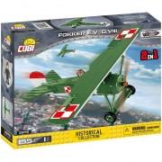 Set de constructie Cobi, Small Army, Avion Fokker (155pcs)