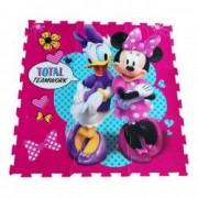 Covor puzzle din spuma Minnie Mouse 4 piese