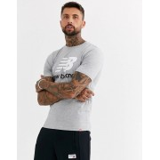 New Balance t-shirt with large logo in grey