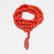 Red Coral Stone Original And Certified Moonga Beads Mala For Unisex