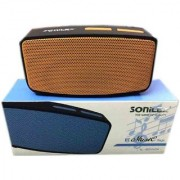 SONILEX PROOF HIGH BASS CLEAR SOUND BLUETOOTH SPEAKER. (SUPPORT WITH BLUETOOTH FM TF CARD AUX CABLE USB etc.)